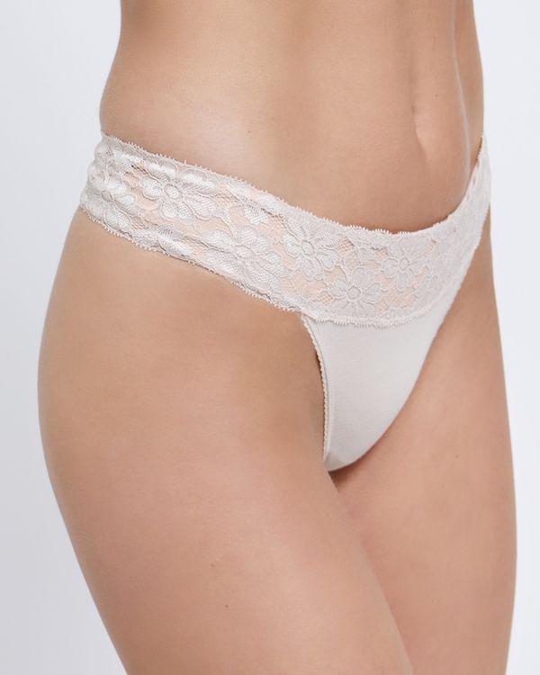 Leah Cotton Thong