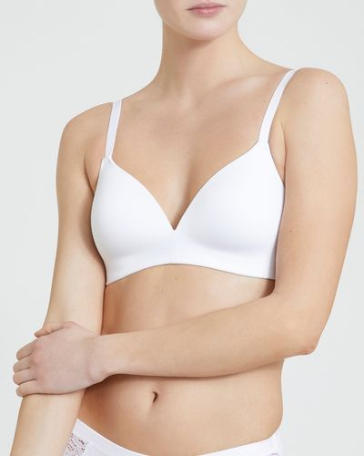 Cotton Rich Non Wired Padded T-Shirt Bra