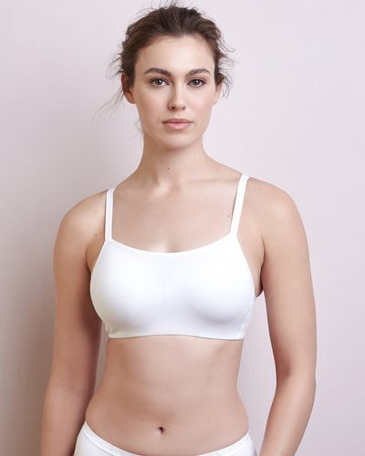 Non-Wired Cotton Cami Bra