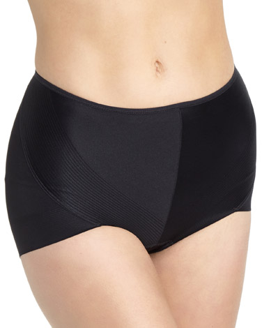black Medium Control No VPL Knickers
