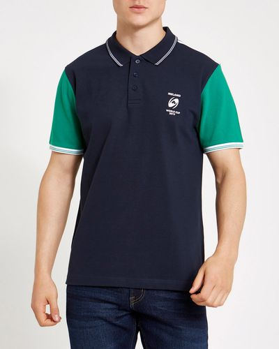 Rugby Colour Blk Polo