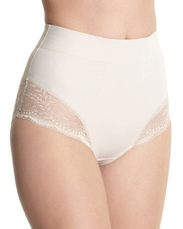 nude Firm Control Panelled Briefs