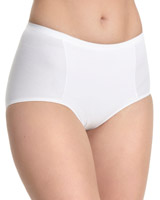 white-nude Cotton Shaper Briefs - Pack Of 2