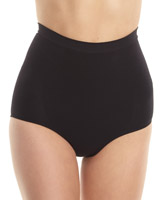 black Medium Control Seamfree High Waist Shaper