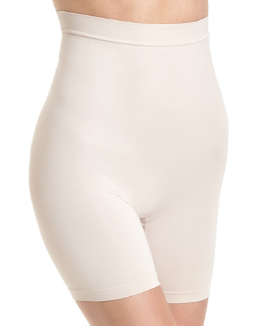nude Medium Control High Waist Shorts