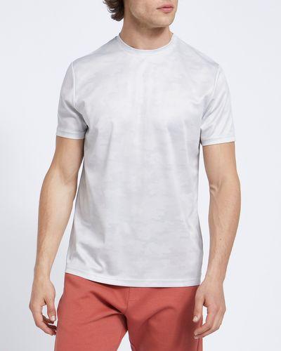 Camo Print Sports T-Shirt