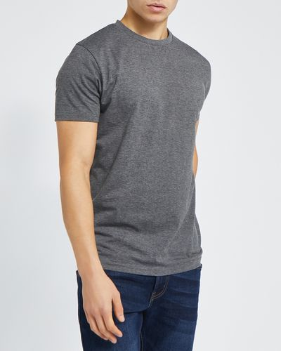Slim Fit Crew Neck Stretch T-Shirt thumbnail