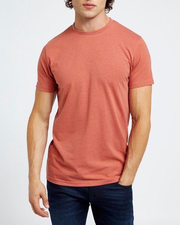 Slim Fit Crew Neck Stretch T-Shirt