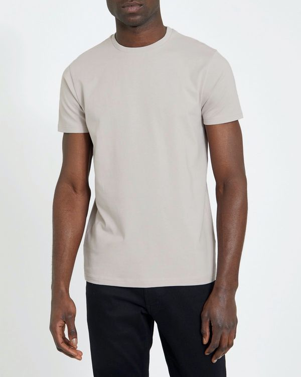 Slim Fit Crew Neck Stretch T-Shirt