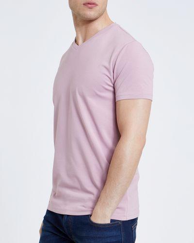 Slim Fit V-Neck Stretch T-Shirt thumbnail