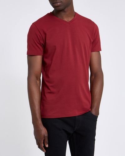 Slim Fit V Neck Tshirt