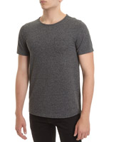 grey Slim Fit Pique T-Shirt