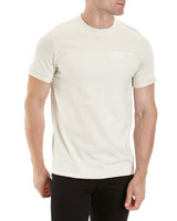 white Slim Fit Graphic T-Shirt