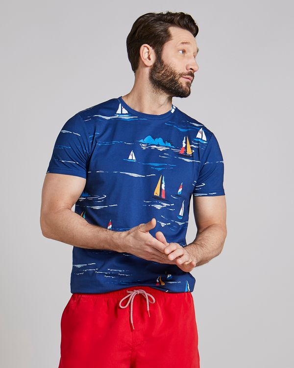 Slim Fit All-Over Print T-Shirt