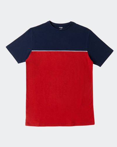 Slim Fit Colour Block T-Shirt