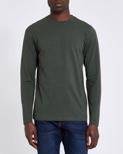 Slim Fit Long Sleeve Stretch T-Shirt