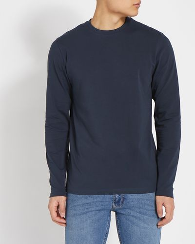 Slim Fit Long Sleeve Stretch T-Shirt