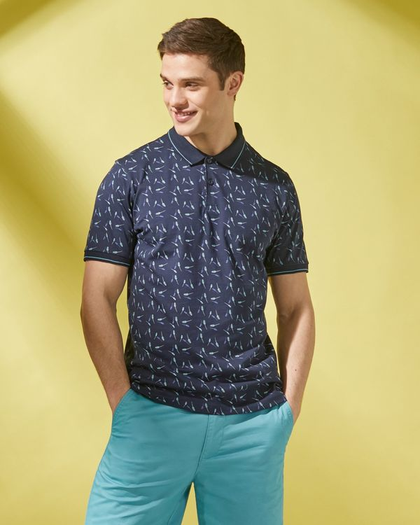 Regular Fit Printed Polo