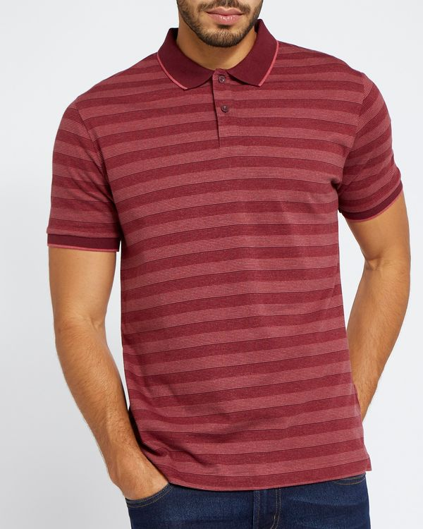 Regular Fit Striped Polo