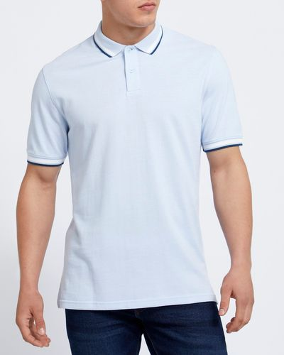 Regular Fit Textured Pique Polo thumbnail