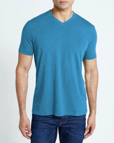 Regular Fit Mens V-Neck T-Shirt thumbnail