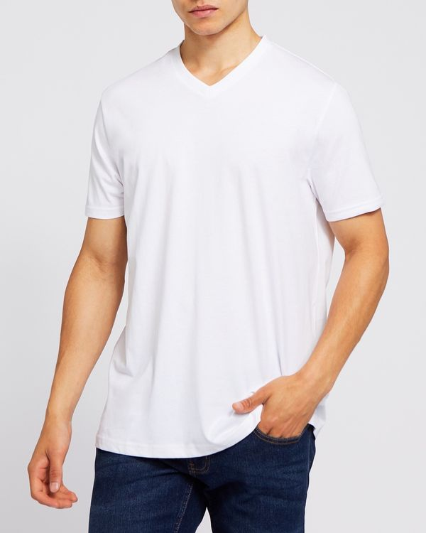 Regular Fit Mens V-Neck T-Shirt
