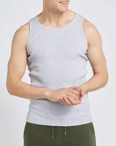 Regular Fit Ribbed Vest thumbnail