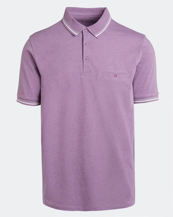 Regular Fit Plain Jersey Polo