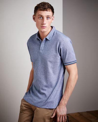 Regular Fit Micro Stripe Polo Shirt thumbnail