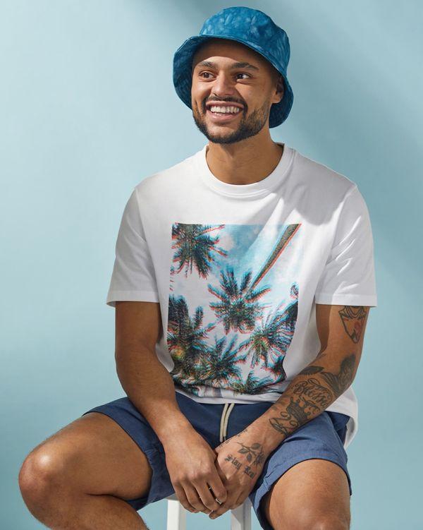 Regular Fit Printed T Shirt