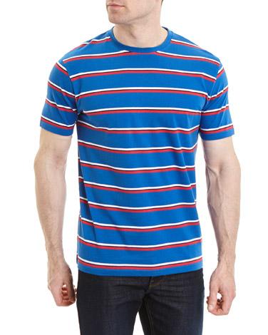 royal-blueRegular Fit Stripe T-Shirt