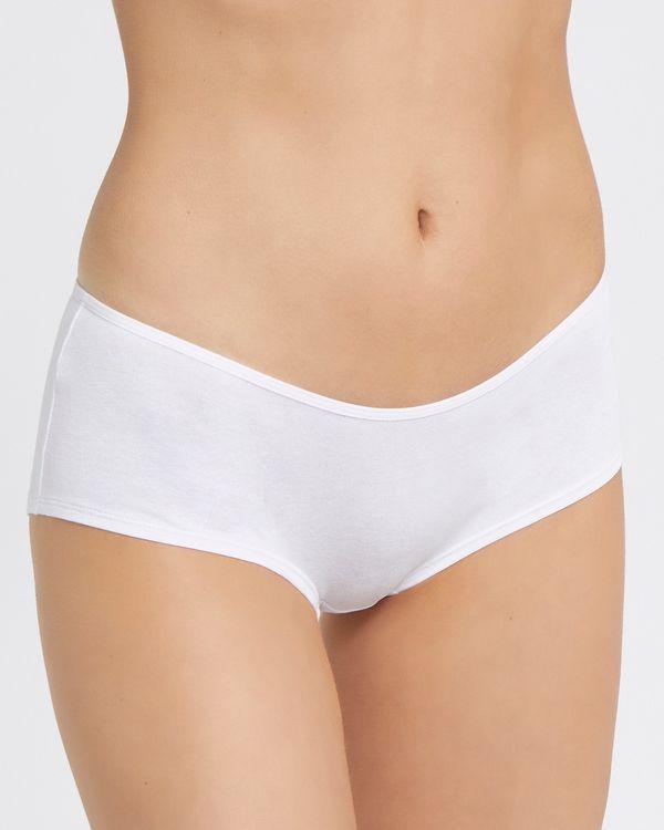Plain Cotton Rich Shorts - Pack of 5