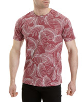 pink Regular Fit All-Over Print T-Shirt