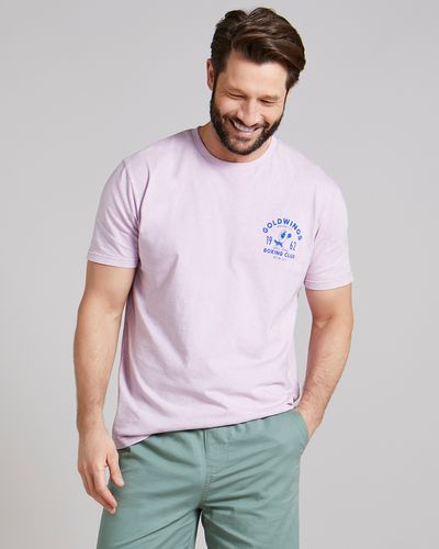 Regular Fit Washed Print T-Shirt
