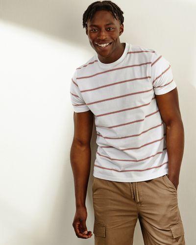 Regular Fit Heavy Stripe T-Shirt