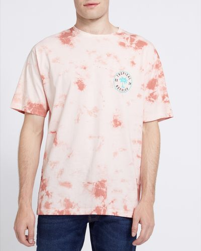 Relaxed Fit Tie Dye T-Shirt