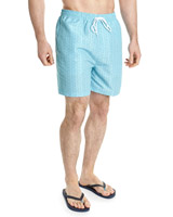 aqua Print Quick Dry Swim Shorts