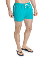 green Shorter Swim Shorts