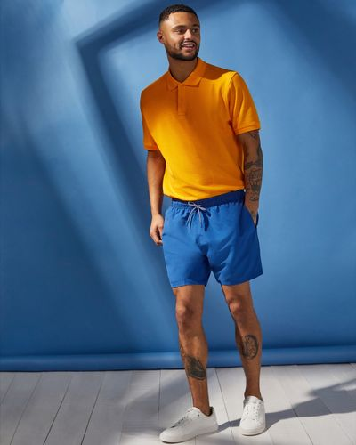 Regular Fit Basic Swim Short