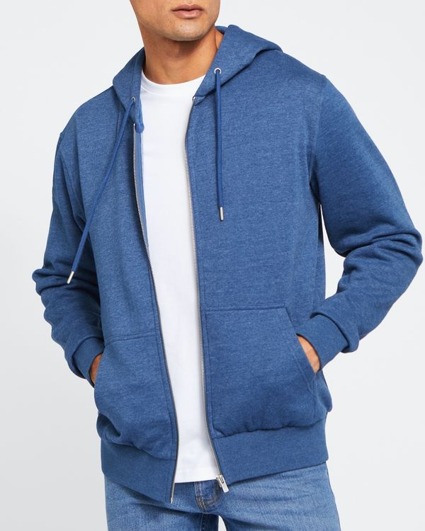Regular Fit Zip Through Hoodie