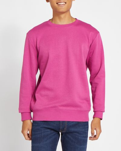 3c0548b5a2c3 Regular Fit Crew-Neck Sweatshirt ...