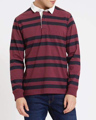 Regular Fit Long-Sleeved Rugby Top