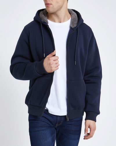 Regular Fit Teddy Lined Sweater