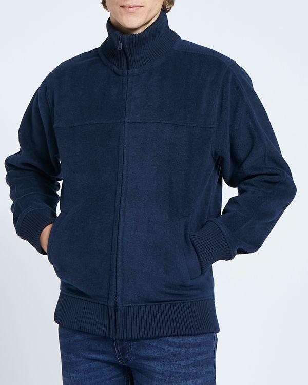Regular Fit Sherpa Fleece Jacket