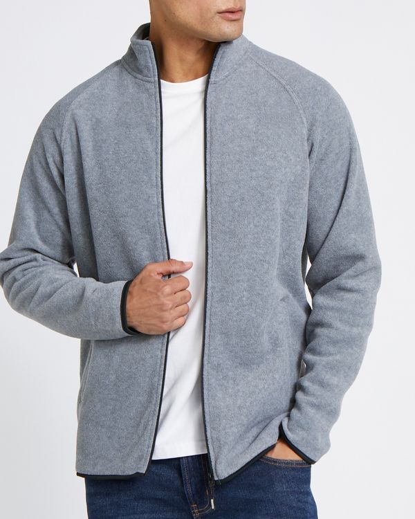 Regular Fit Fleece Zip-Through