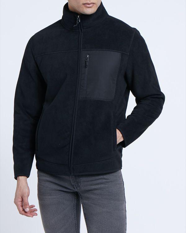 Regular Fit Bonded Fleece Jacket