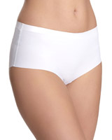 white Miracle High Rise Briefs