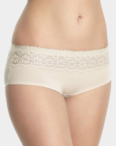 Miracle Cotton Lace Top Short