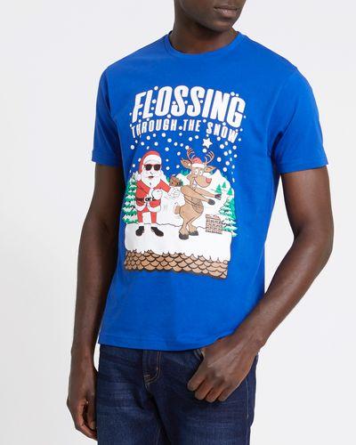 Santa Christmas Regular Fit T-Shirt