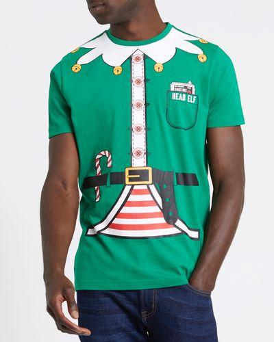 Regular Fit Elf Christmas T-Shirt